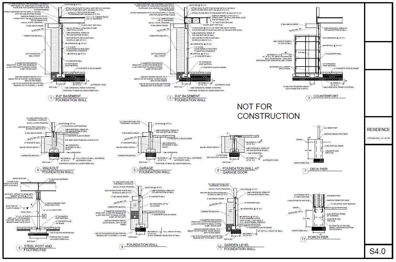 diagram of construction